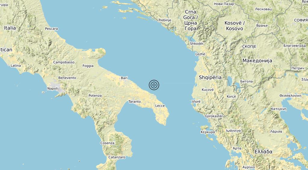 Terremoto 21-04-2021