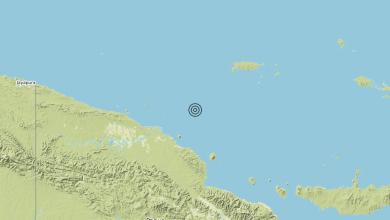 Photo of Terremoto Near north coast of New Guinea, Papua New Guinea [Sea: Papua New Guinea] – Magnitudo (ML) 6.0