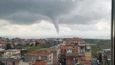 Photo of Tornado a CATANIA – ULTIMA ORA