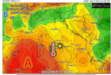 Photo of Meteo: weekend 8-9 maggio AFRICANO