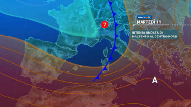 Photo of Meteo di domani: tendenza a FORTE peggioramento. Ecco dove
