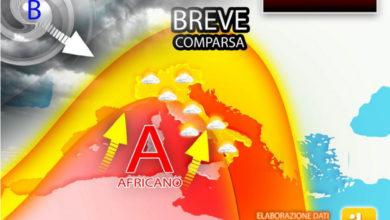 Photo of Meteo: previsioni weekend con APICE DEL CALDO. Ma dura POCO