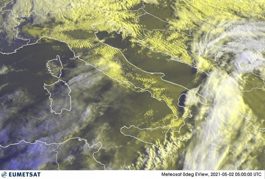 Previsioni Meteo Italia 02-05-2021
