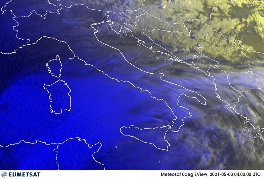 Previsioni Meteo Italia 03-05-2021