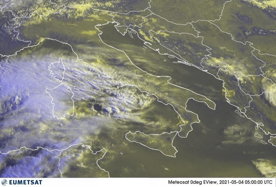 Previsioni Meteo Italia 04-05-2021