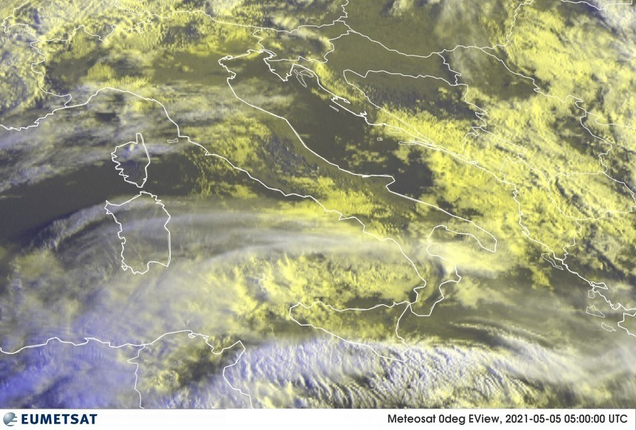 Previsioni Meteo Italia 05-05-2021