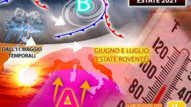 Photo of Meteo: MAGGIO con tante PIOGGE e TEMPORALI ma GIUGNO sarà BOLLENTE