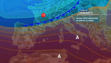 Photo of Meteo oggi: previsioni per il 21 maggio