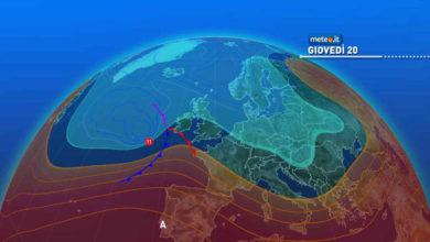 Photo of Meteo oggi: previsioni del tempo