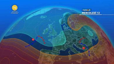 Photo of Meteo: previsioni del tempo oggi 12 Maggio