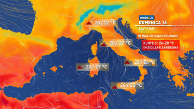 Photo of Meteo oggi: nuovo maltempo al nord