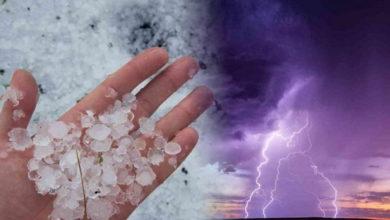 Photo of Meteo: previsioni del tempo confermate. Calo termico, piogge, temporali e grandine