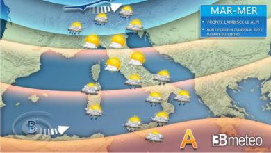 Photo of Meteo: previsioni di domani con tempo in PEGGIORAMENTO