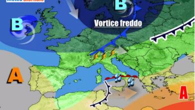 Photo of Meteo: Italia tra sole e temporali