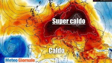 Photo of Meteo: giugno 2021 da CALDO RECORD, mai così da 42 ANNI! Le previsioni in dettaglio