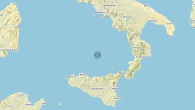 Photo of Terremoto Tirreno Meridionale (MARE) – Magnitudo (ML) 3.5