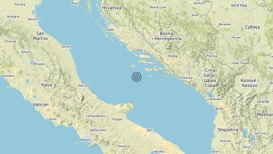 Photo of Terremoto Adriatico Centrale (MARE) – Magnitudo (ML) 3.4