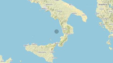 Photo of Terremoto Tirreno Meridionale (MARE) – Magnitudo (ML) 3.3