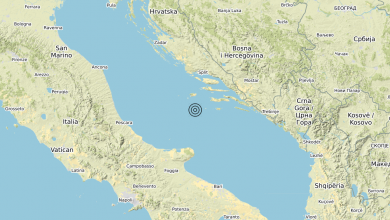 Photo of Terremoto Adriatico Centrale (MARE) – Magnitudo (ML) 3.2
