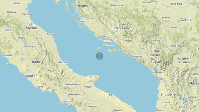 Photo of Terremoto Adriatico Centrale (MARE) – Magnitudo (ML) 3.5