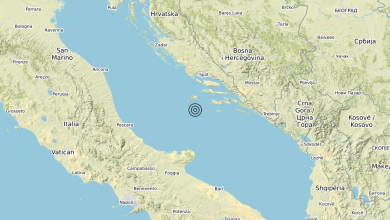 Photo of Terremoto Adriatico Centrale (MARE) – Magnitudo (ML) 3.4