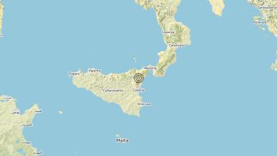 Photo of Terremoto 4 km NW Sant'Alfio (CT) – Magnitudo (ML) 3.1
