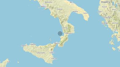 Photo of Terremoto Costa Calabra sud-occidentale (Catanzaro, Vibo Valentia, Reggio di Calabria) – Magnitudo (ML) 3.2
