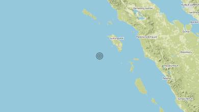 Photo of Terremoto Off west coast of northern Sumatera, Indonesia [Sea: Indonesia] – Magnitudo (ML) 6.7