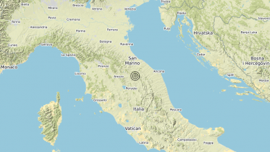 Photo of Terremoto 1 km NW Gubbio (PG) – Magnitudo (ML) 3.1
