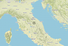 Photo of Terremoto 3 km NW Gubbio (PG) – Magnitudo (ML) 3.0