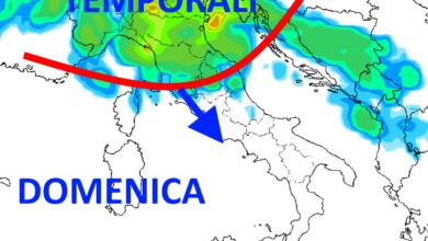 Photo of Meteo al 5 luglio: nuovo cambiamento del tempo al nord, picco del CALDO al SUD