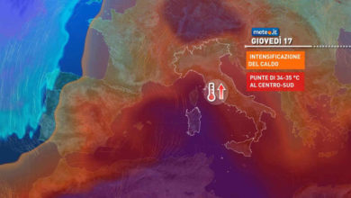 Photo of Meteo: ora l' estate fa sul serio. Tra mercoledì 16 e sabato 19 primi 40 gradi. Ecco dove