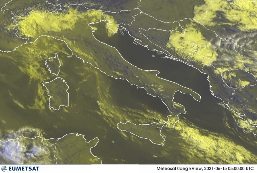 Previsioni Meteo Italia 15-06-2021