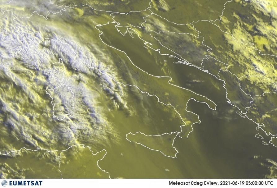 Previsioni Meteo Italia 19-06-2021