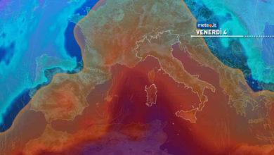 Photo of Meteo: fiammata africana a partire da oggi 3 giugno
