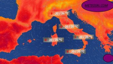 Photo of Meteo: entro 7-10 giorni esplode il caldo ESTIVO