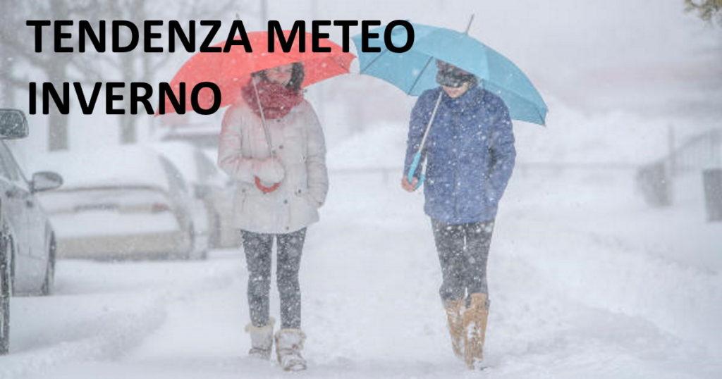 Le previsioni meteo per l'inverno