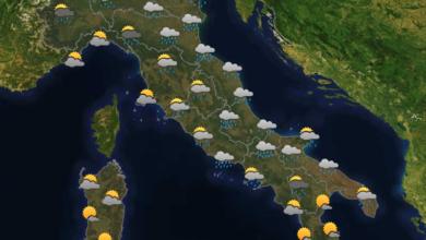 Photo of Previsioni del tempo per domani 07-06-2021