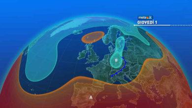 Photo of Meteo: previsioni per oggi pomeriggio e domani