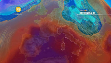 Photo of Previsioni meteo: sabato 12 e domenica 13 giugno 2021