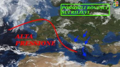 Photo of Meteo: tra oggi e domani nuovi temporali e grandine. Estate dove sei?