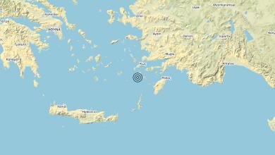 Photo of Terremoto Dodecanese Islands, Greece [Sea: Greece] – Magnitudo (ML) 5.1