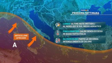 Photo of Meteo: che tempo farà nel weekend del 3 e 4 luglio?