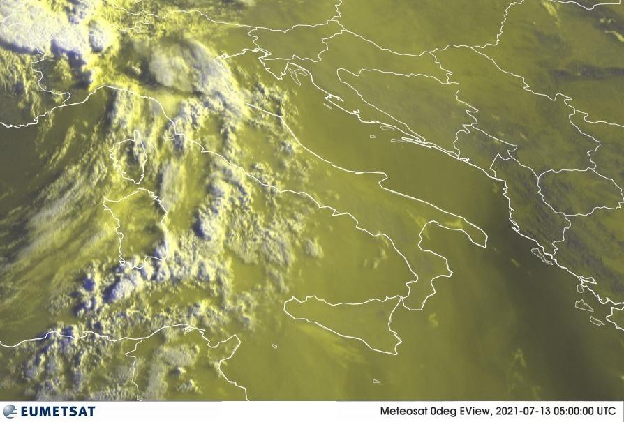 Previsioni Meteo Italia 13-07-2021