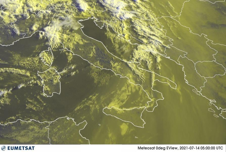Previsioni Meteo Italia 14-07-2021