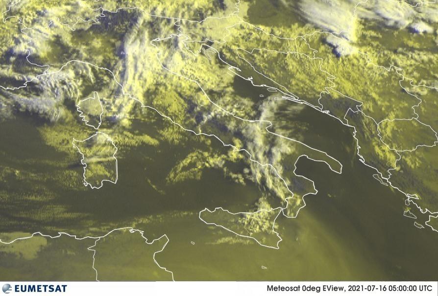 Previsioni Meteo Italia 16-07-2021