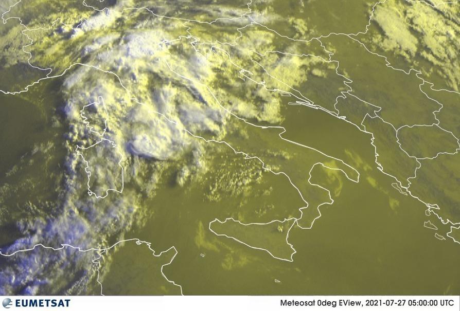 Previsioni Meteo Italia 27-07-2021