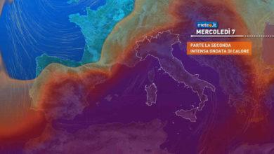Photo of Meteo: apice del caldo, giovedì 8 LUGLIO