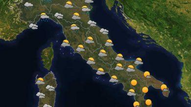 Photo of Previsioni del tempo per domani 25-07-2021