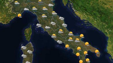Photo of Previsioni del tempo per domani 27-07-2021